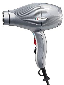 Gamma Piu Ion Ceramic S - Secador de pelo, color plata: Amazon.es: Salud y cuidado personal