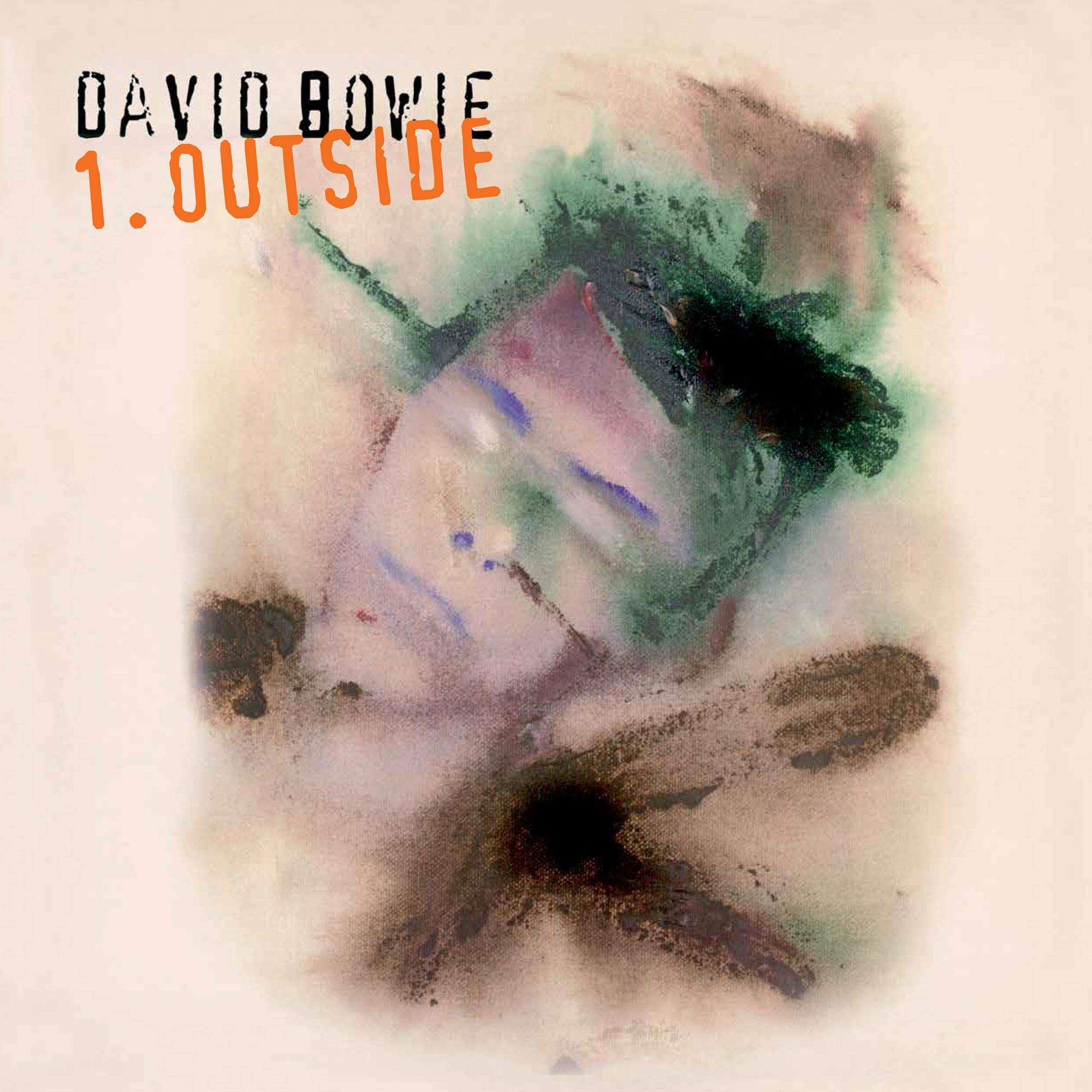 Vinilo : David Bowie - 1. Outside (180 Gram Vinyl, Limited Edition, Colored Vinyl, Audiophile, Blue)