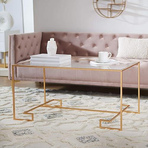 Safavieh Home Collection Burton Gold Coffee Table