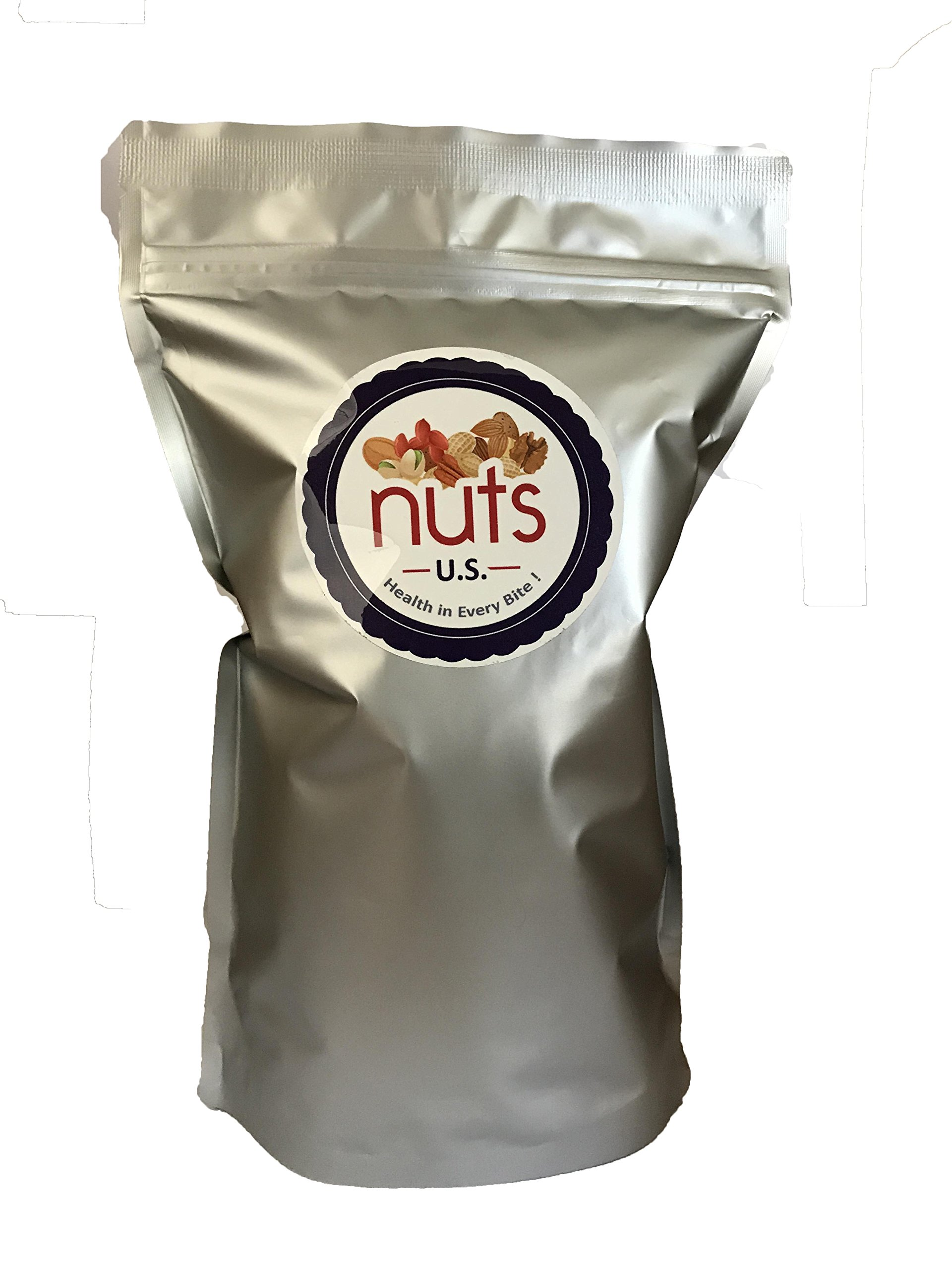 NUTS U.S. - Roasted, Unsalted, Blanched Turkish Hazelnuts (3 LB) by NUTS - U.S. - HEALTH IN EVERY BITE !