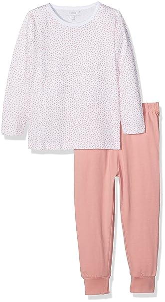 258ad58d261 Name It Baby Girls' Nmfnightset Bright White Noos Pyjama Sets:  Amazon.co.uk: Clothing