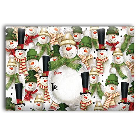 amazon com jillson roberts 6 count decorative christmas mailing