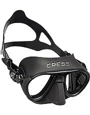 Cressi Calibro Maschera Subacquea con Dispositivo Antifog per Adulti, Disponibile in Colori Vari