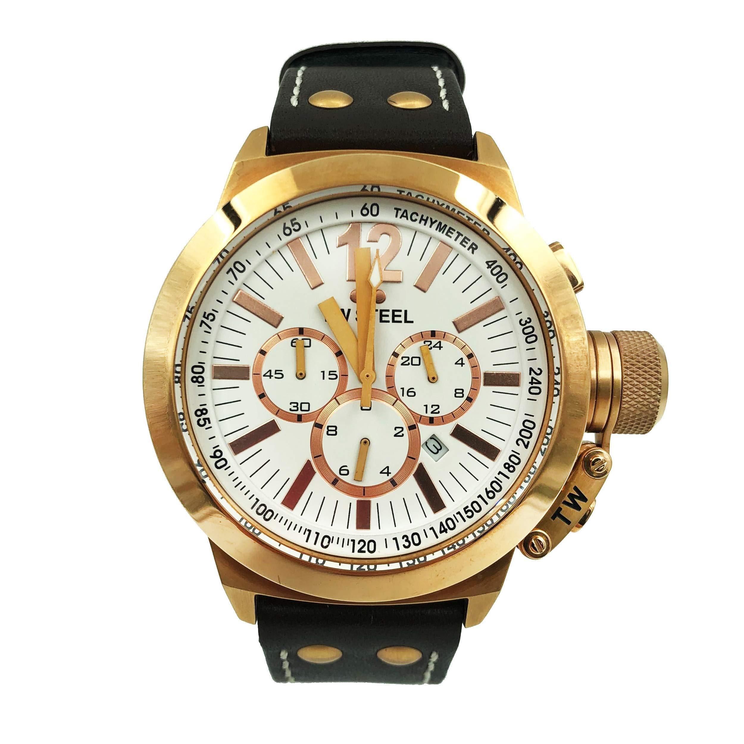 TW Steel CEO Quartz Male Watch CE1019 (Certified Pre-Owned)