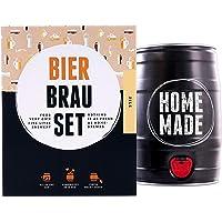 Bierbrauset Zum Selber Brauen | Pils Im 5 Liter Fass | In 7 Tagen Fertig | Perfektes Geschenk Für Den Freund Oder Den Vater