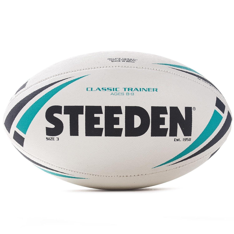 Steeden clásico Entrenamiento Rugby Liga formación Pelota de Color ...
