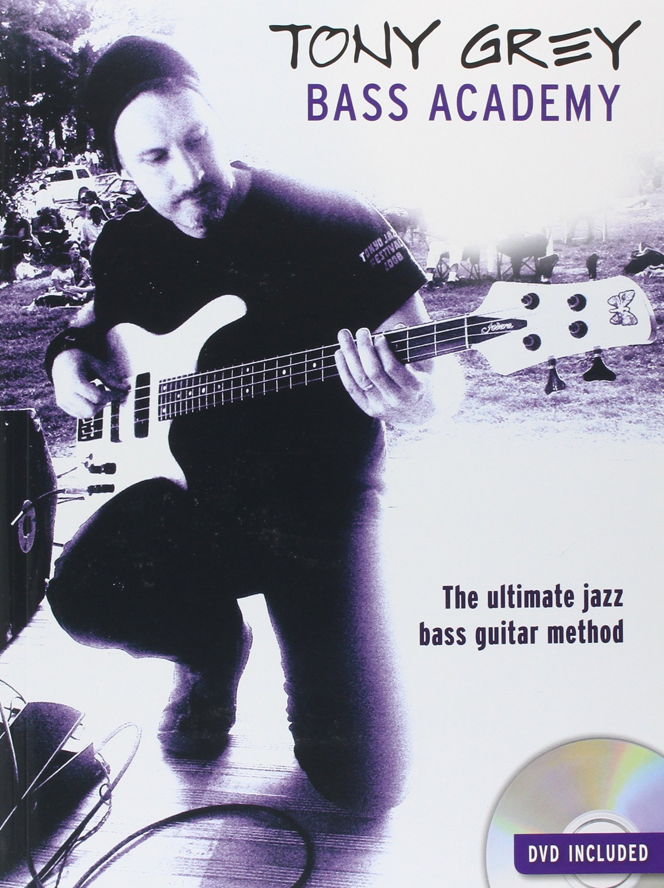 tony grey bass academy book dvd