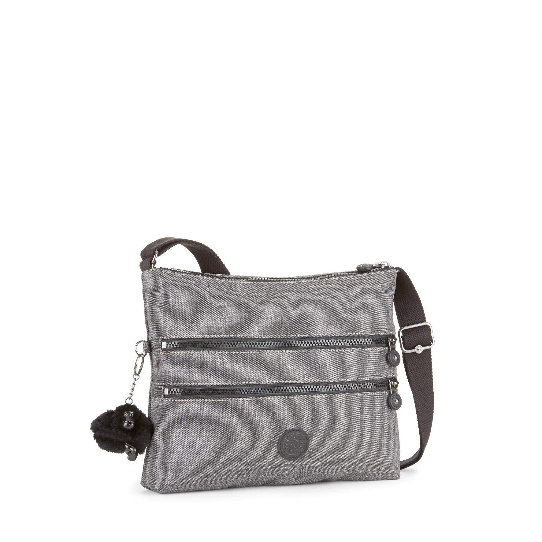 Kipling Women's Alvar Shoulder Bag, 33 x 26 x 4.5 cm Grey Size: UK One Size