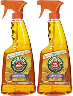 Murphy Oil Multi Use Wood Cleaner Spray With Orange Oil   22 Oz   2