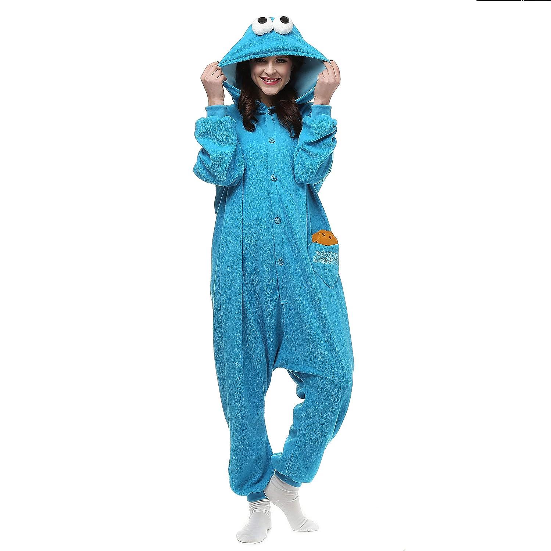 Unisex Onesie Costumes Pyjamas, Adult Women Men Animal Cosplay Halloween Homewear