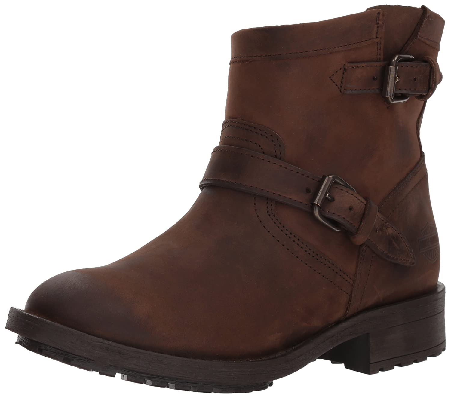 Harley-Davidson Women's Allerton Ankle Boot B077VSVRX5 08.5 Medium US|Brown