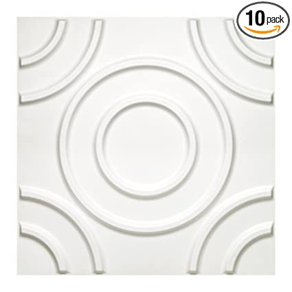 Donny Osmond Home 3dwtcrcl06 Circles 3d Self Adhesive Wall Tiles 10