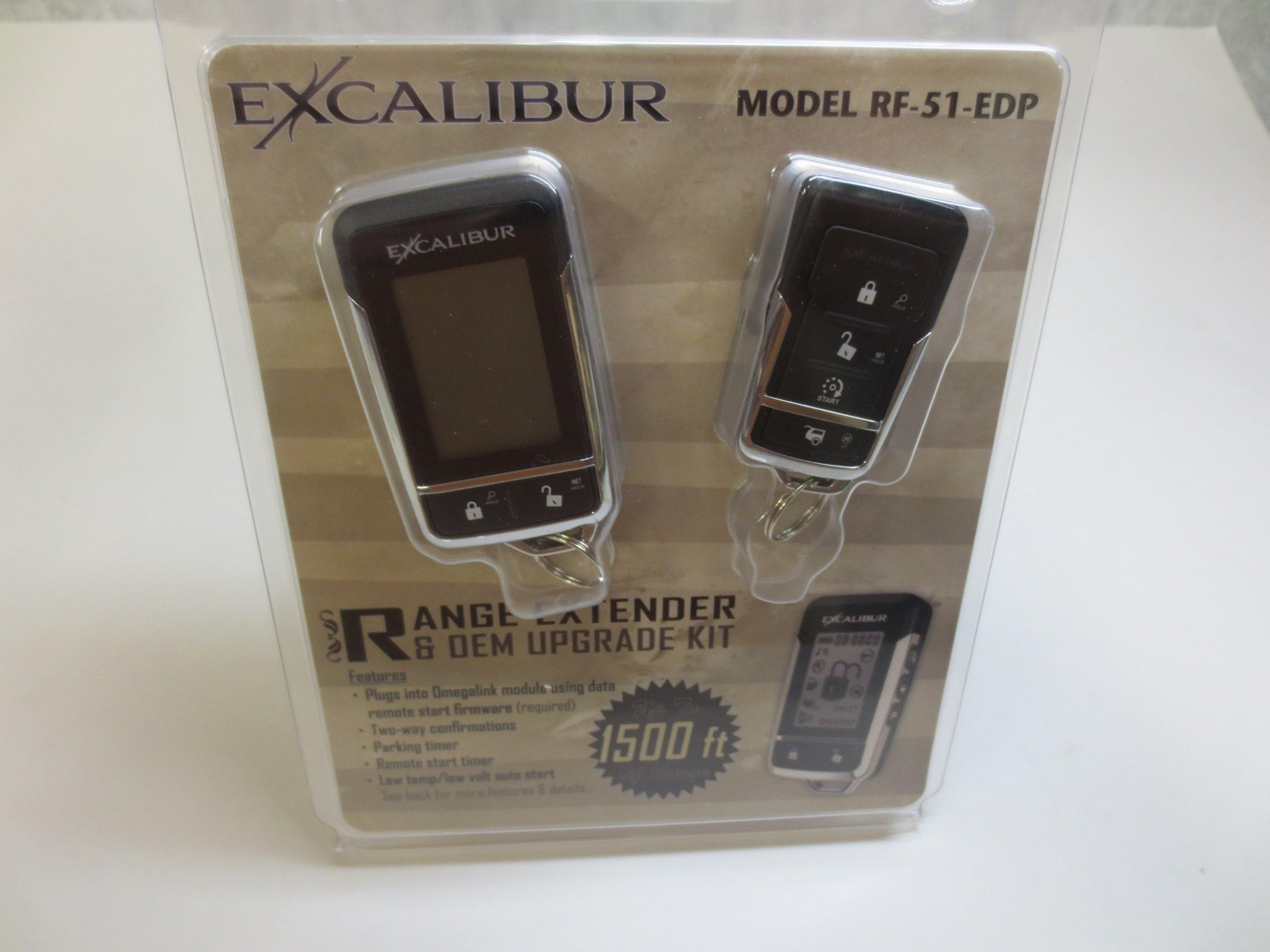 Excalibur RF-51-EDP for: Remote Start T Harness RS Series Extended Range RF Kit