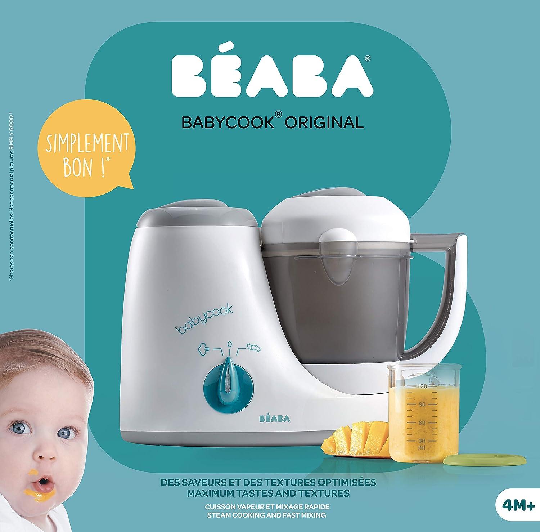 Reiseinsatz für Babycook weiß BEABA 01//912466 Nudel- Babycook Plus