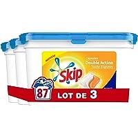 Skip Lessive Capsules Duo Touche d'Agrumes 29 Lavages - Pack de 3