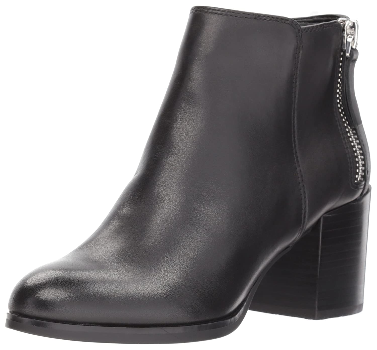ALDO Women's Kelii Ankle Bootie B0743SRB7T 6.5 B(M) US|Black Leather