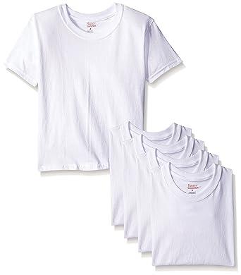 63462528 Amazon.com: Hanes Boys' Toddler 5-Pack Crew: Clothing