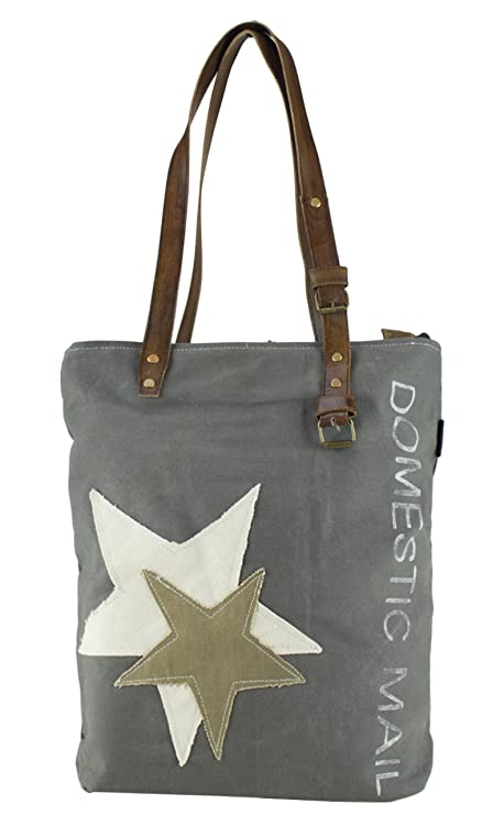 mujer bolsa de mensajero vintage bolsa cruzada de lona militar 43x42x11 cm 1807