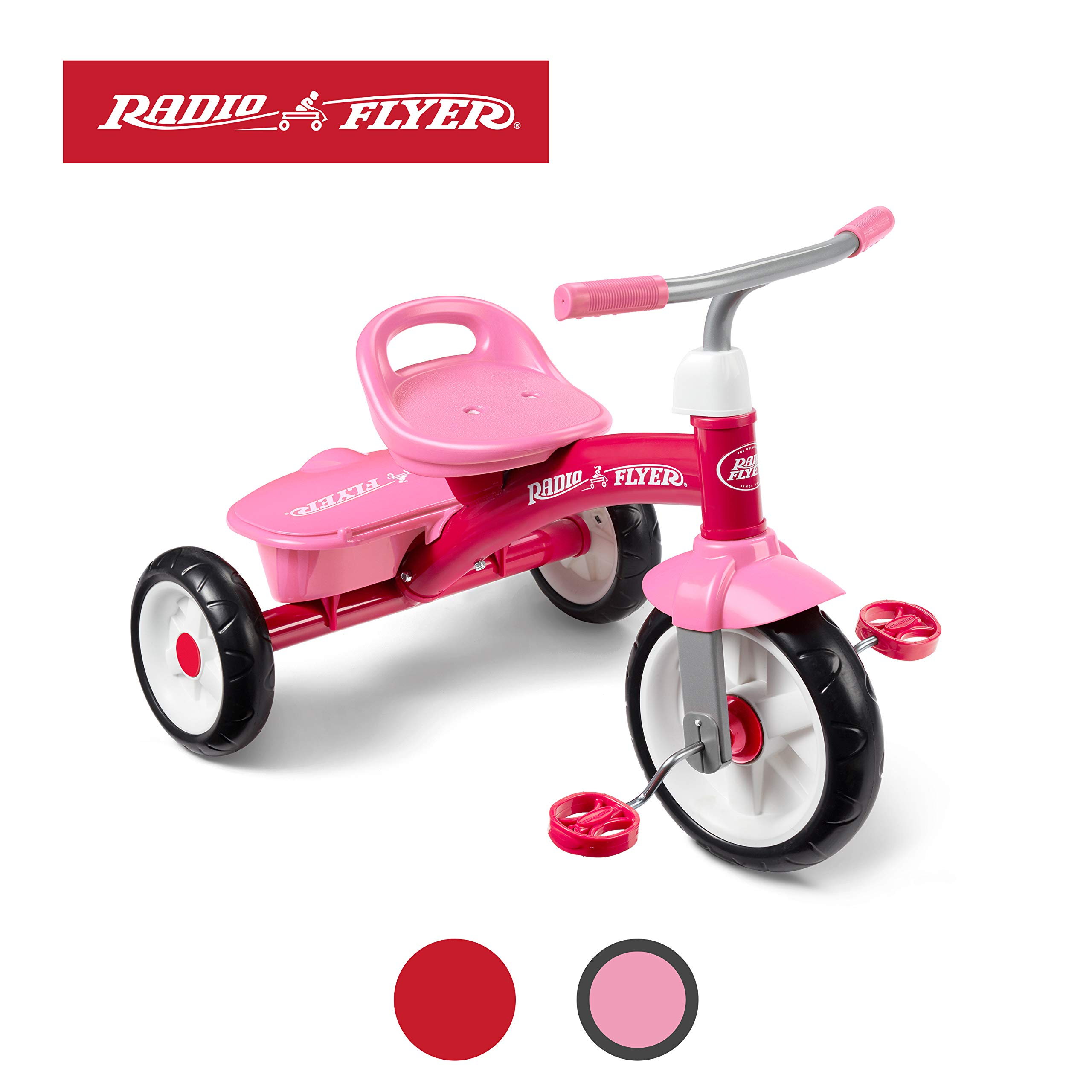 Radio Flyer Pink Rider Trike (Amazon Exclusive) by Radio Flyer