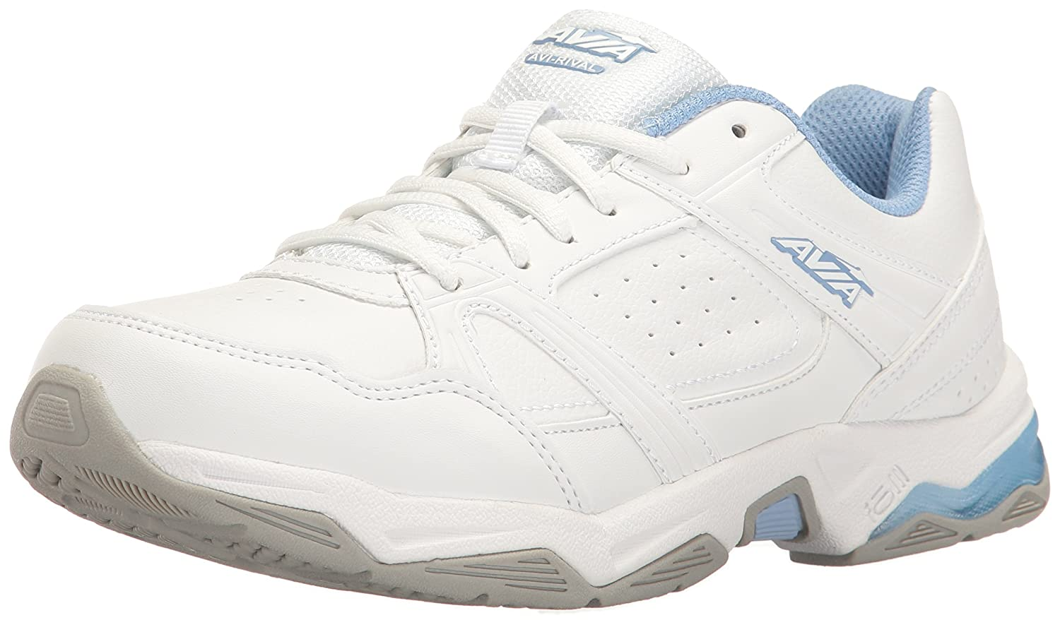 Avia Women's Avi-Rival Cross-Trainer Shoe B01IUH7Q6U 8 W US|White/Powder Blue