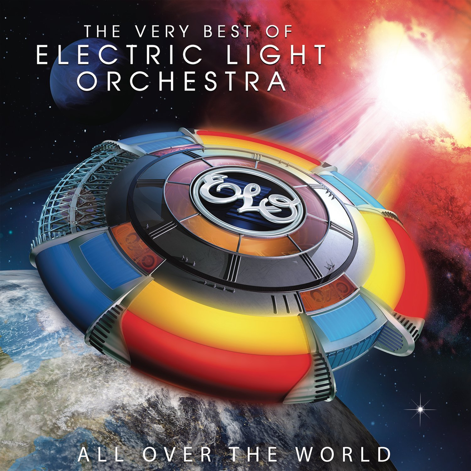 Vinilo : ELO - All Over The World: The Very Best Of Electric Light Orchestra (Gatefold LP Jacket, 2 Disc)