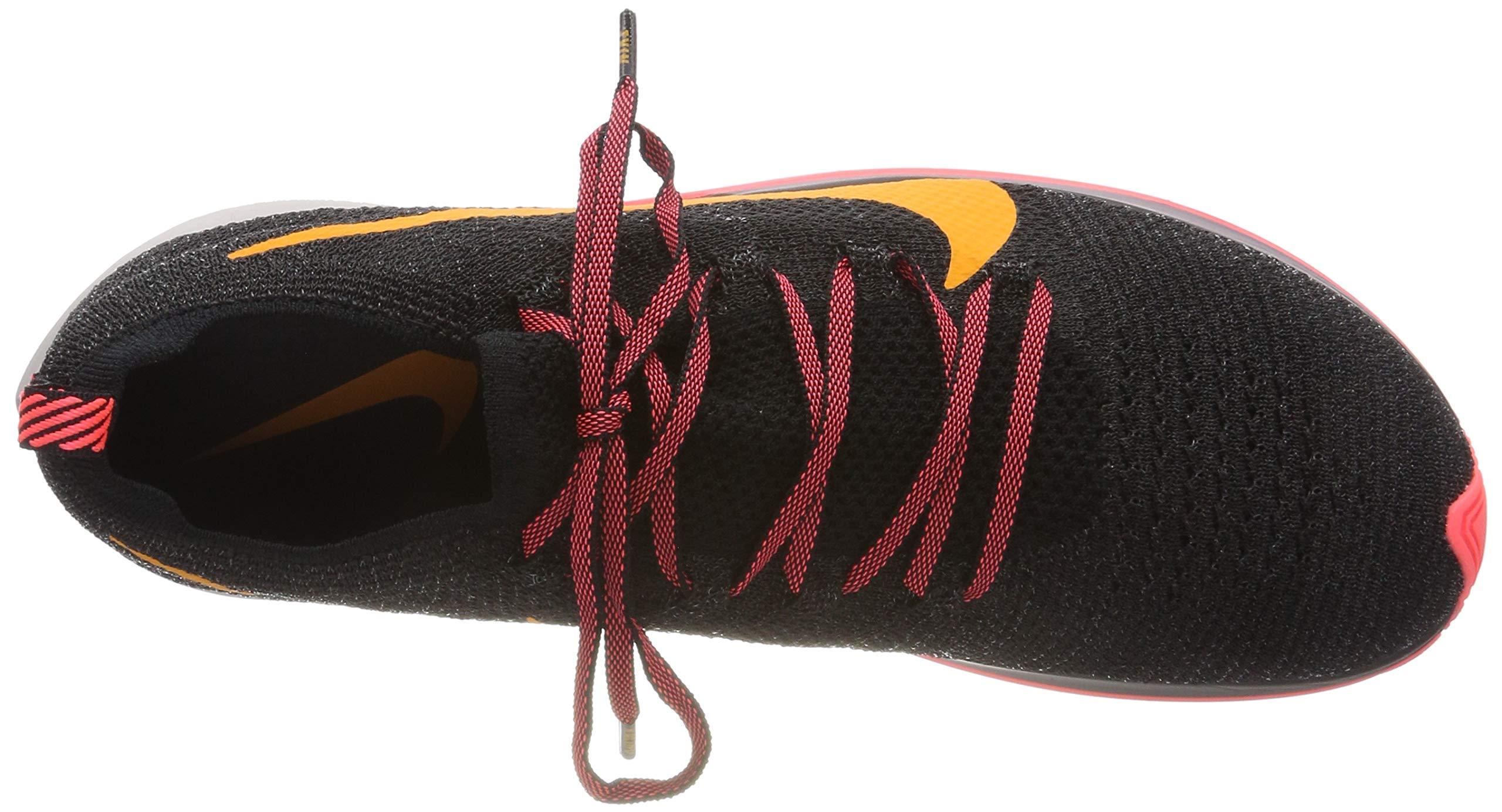 Nike Zoom Fly Flyknit Men's Running Shoe Black/Orange Peel-Flash Crimson Size 8 M US by Nike (Image #7)