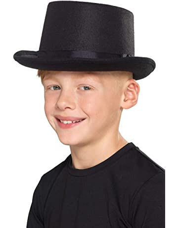 6e0d89cc75b Fancy Dress St Patricks Irish Ireland Eire Top Hat Green With Leprechaun  Man. Smiffy s Kids Top Hat ...