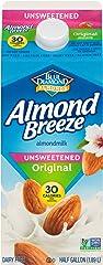 Almond Breeze Blue Diamond, Almond milk, Original, 64 Fl Oz