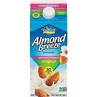 Almond Breeze Blue Diamond, Almond milk, Original, 64 Oz