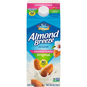 Almond Breeze Blue Diamond Unsweetened Almond Milk