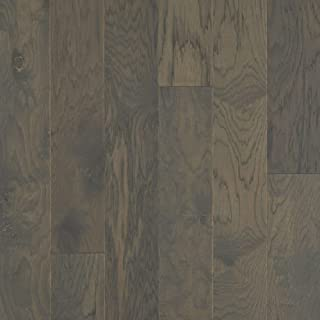 "product image for Shaw SW712-09044 Shaw SW712 High Plains 6-3/8"" Wide Wire Brushed Engineered Hardwood Flooring with ScufResist Platinum/Water Repel Finish - Sold by Carton (30.48/SF Carton)"