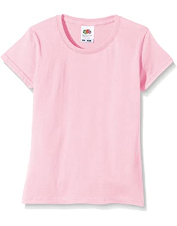 d2429625cd0b Fruit of the Loom Girls Sofspun T-Shirt