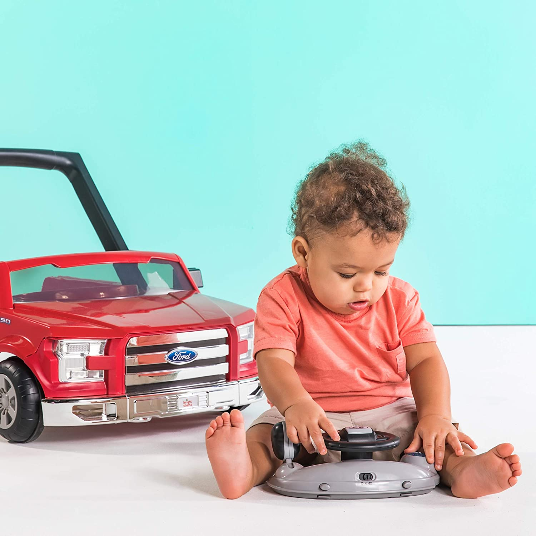 Bright Starts - Trotter 3-en-1 Ford F-150 rojo: Amazon.es: Bebé