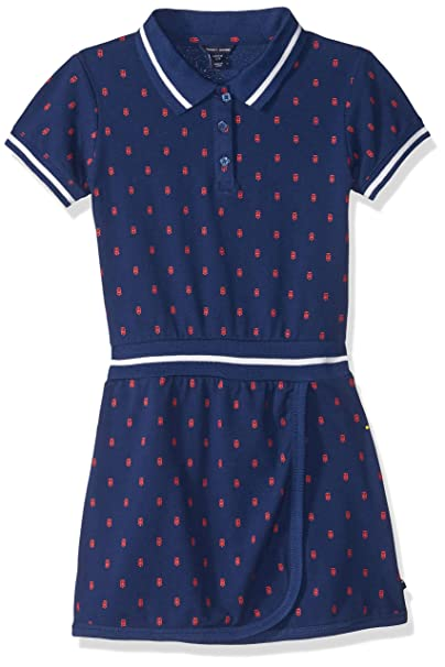01e5cdc3800 Tommy Hilfiger Big Girls  Pique Dress with Rib