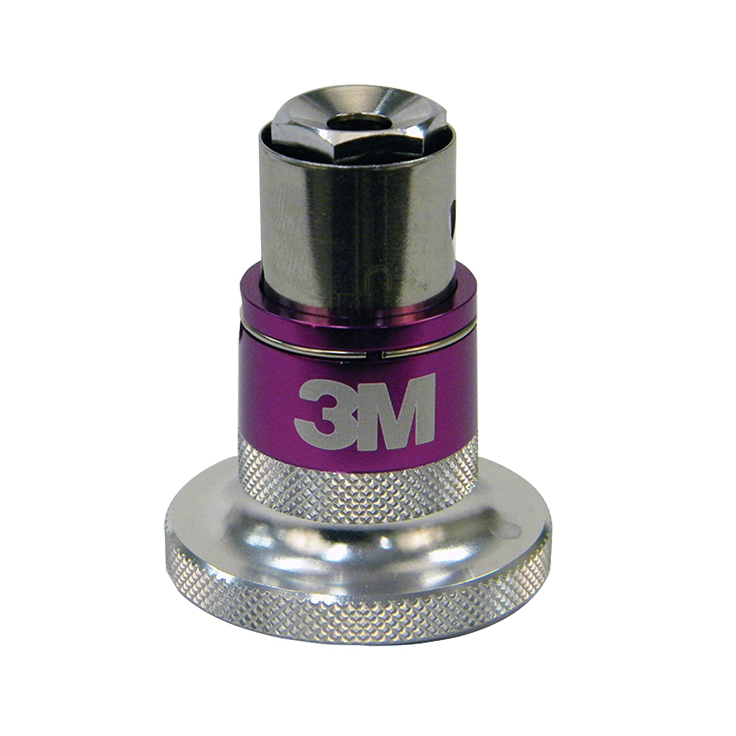3M Perfect-It Quick Connect Adapter (05752) – For 3M Compounding and Polishing Pads – 5/8-inch thread