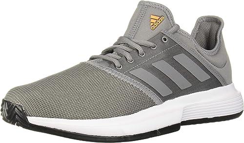 adidas Herren Gamecourt, weiß, 38 EU: Adidas: