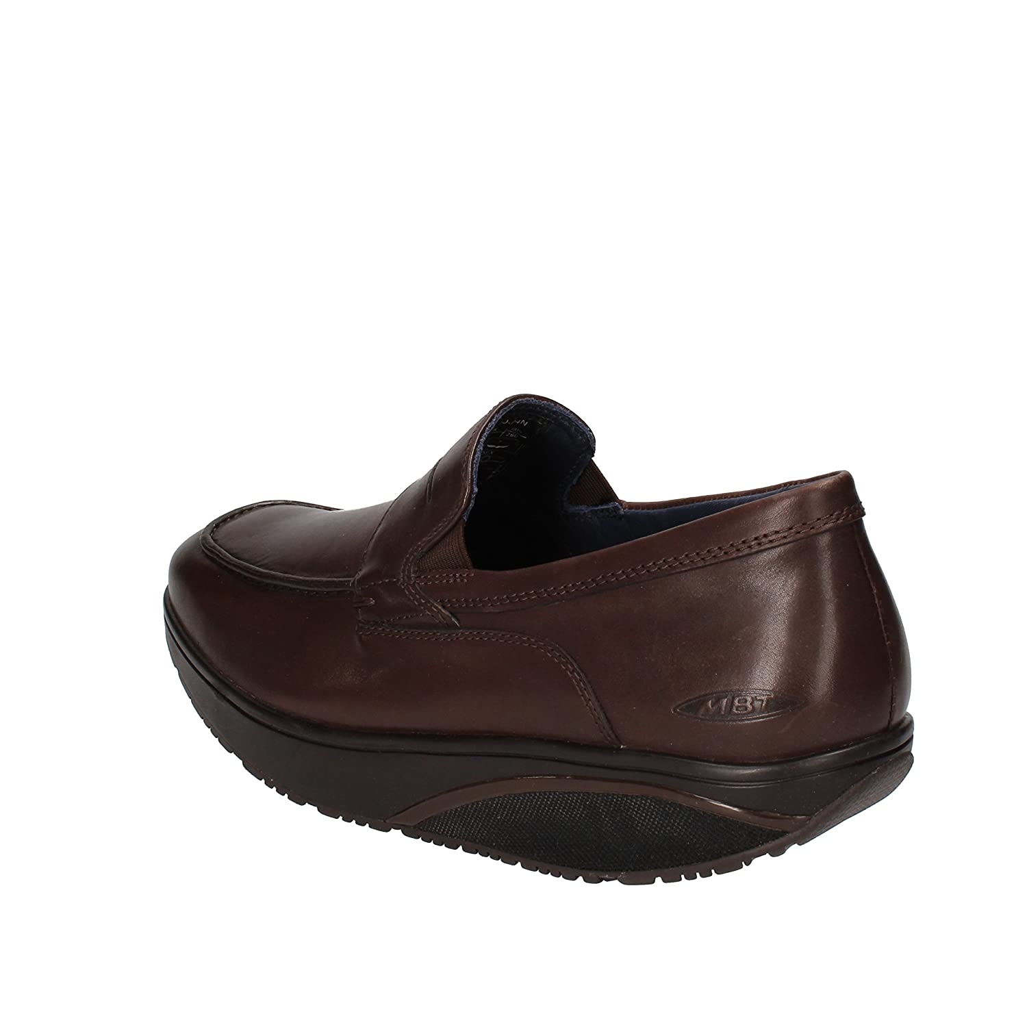 618deca8fec5 Amazon.com   MBT Loafers-Shoes Mens Leather Brown 5/5.5 US   Loafers ...