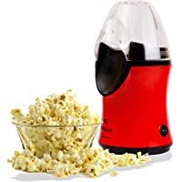 Singer Health Corn 1200 watts Popcorn Maker (Red & Black) with Measurement Cup