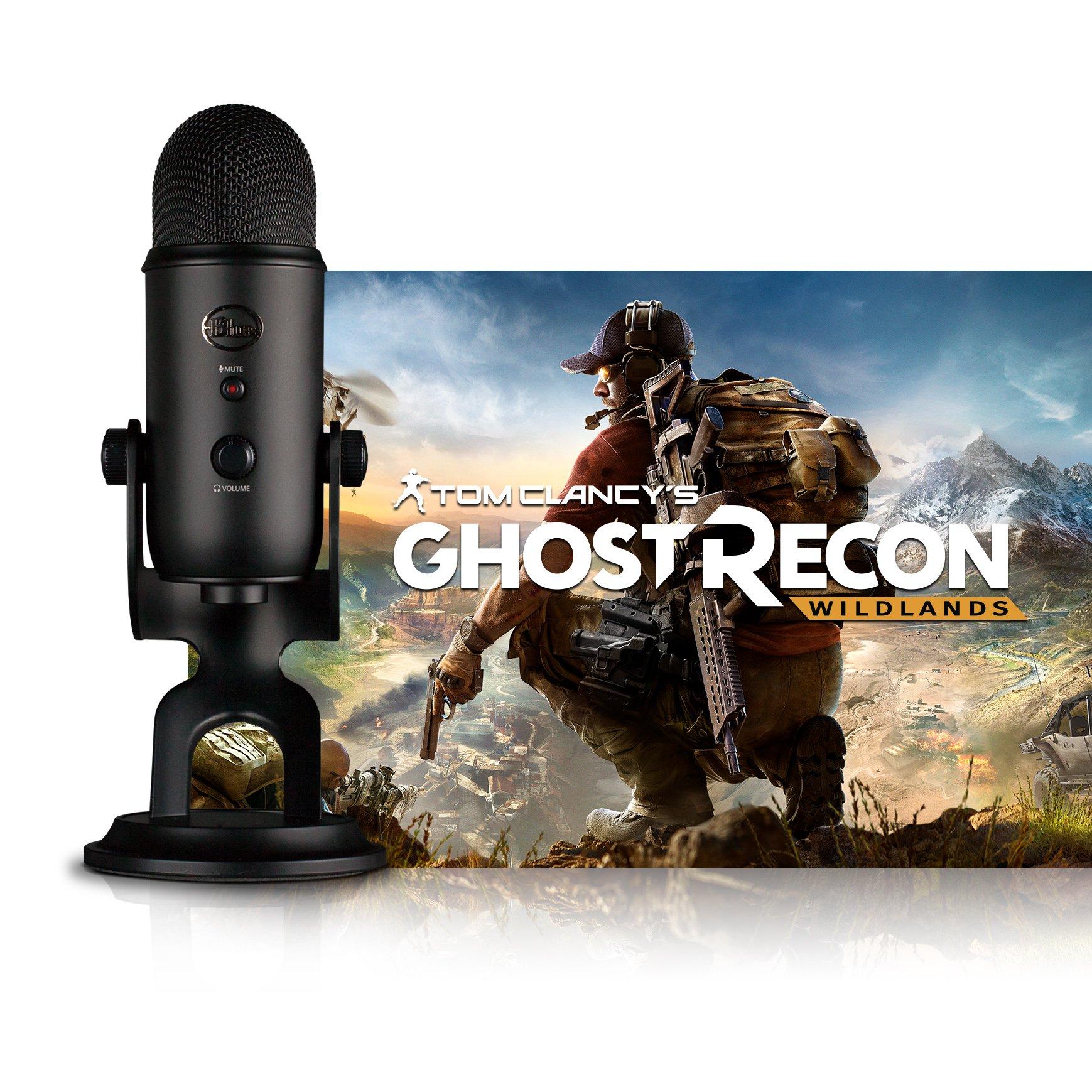 Blue Blackout Yeti + Tom Clancy's Ghost Recon Wildlands PC: Streamer Bundle