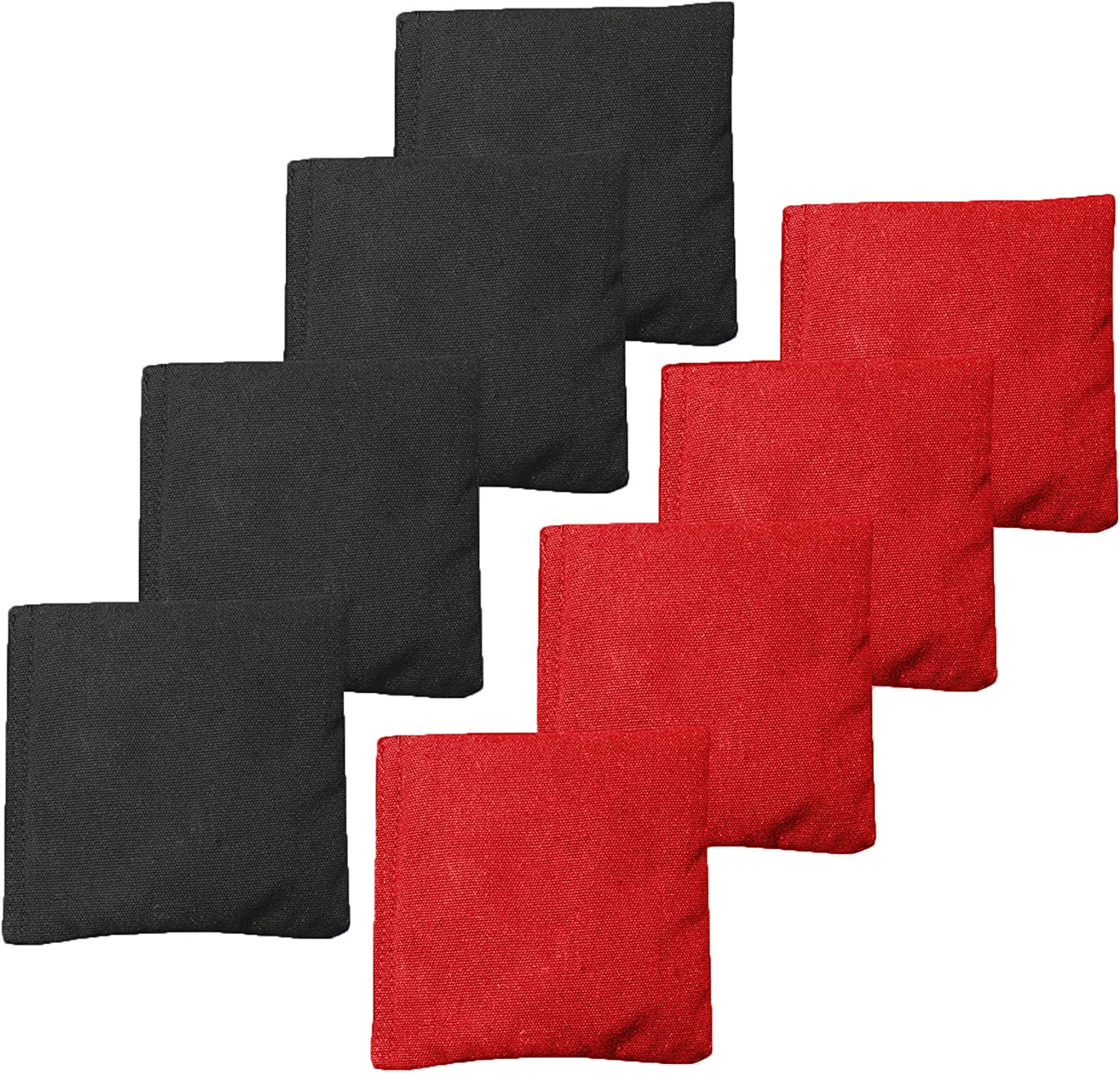 16 Colors Available Duck Cloth with All-Weather Corn Fill Renewed GoSports Cornhole Bean Bag Sets
