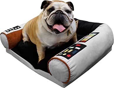 Star Trek Dog Bed - Captain's Chair - Command The Enterprise with Your Dog - S/M
