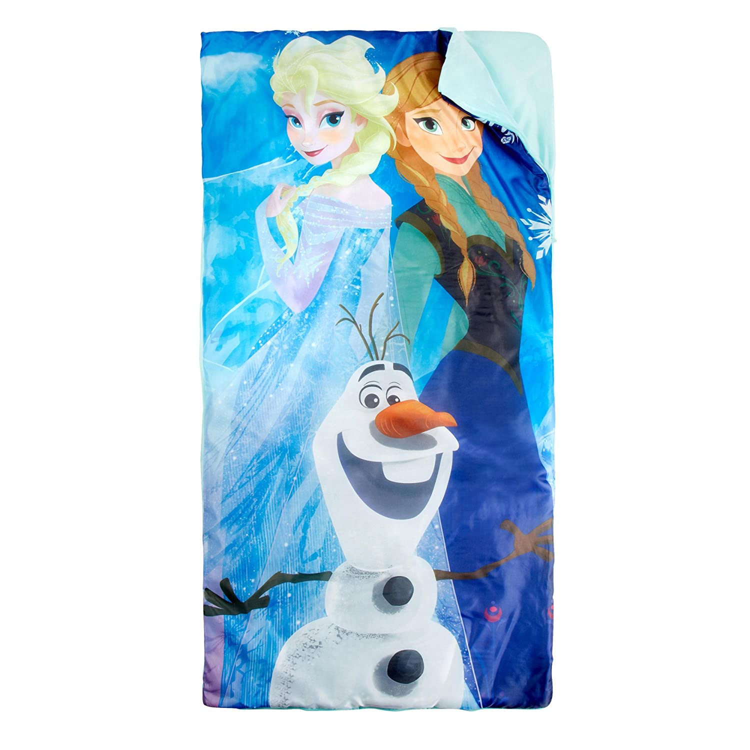 Disney Frozen Elsa Anna and Olaf Sleepingバッグandスリングセット B00ORHCLE0