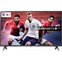 LG 49SK8000PLB 49-Inch Super UHD 4K HDR Premium Smart LED TV with Freeview Play - Brilliant Titan (2018 Model)