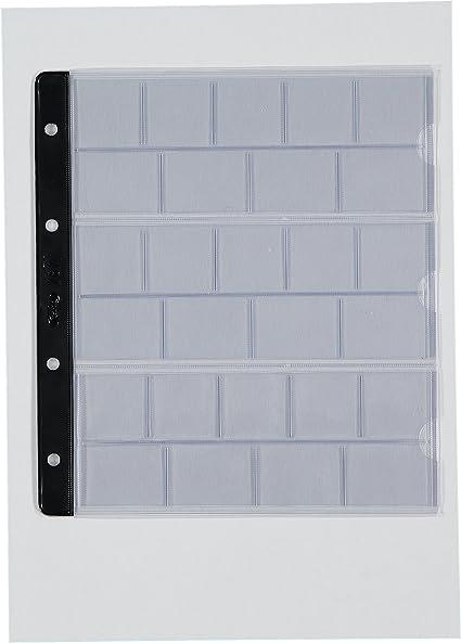 Pardo 76700 - Pack de 10 fundas para album monedas: Amazon.es: Oficina y papelería