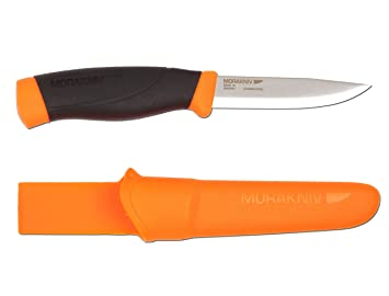 Mora FT01603 Cuchillo a Lama Fissa,Unisex - Adultos, Orange, un tamaño