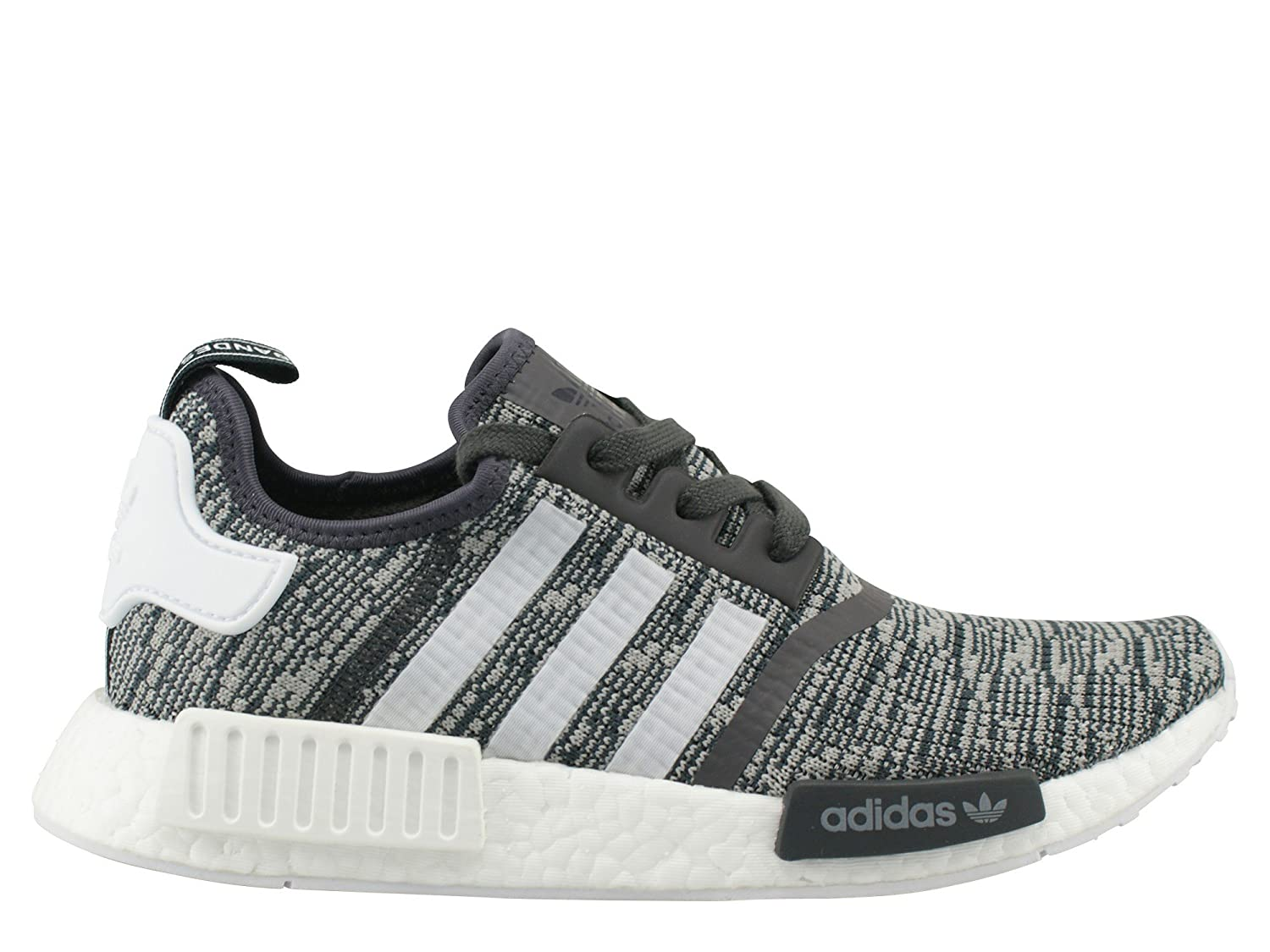 Utility Black Footwear White Medium Grey Heather Solid Grey Adidas Originals Men's Primeknit NMD_R1 Running shoes (Black)