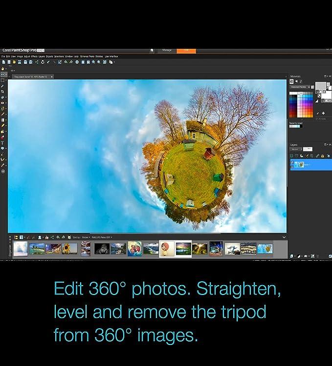 PaintShop Pro 2019 Ultimate - Photo Editing & Bonus Collection [PC Download]
