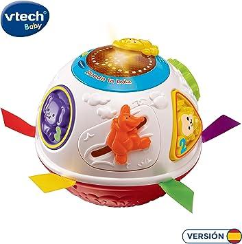VTech - Rueda la Bola, Pelota interactiva Que Gira y estimula el ...