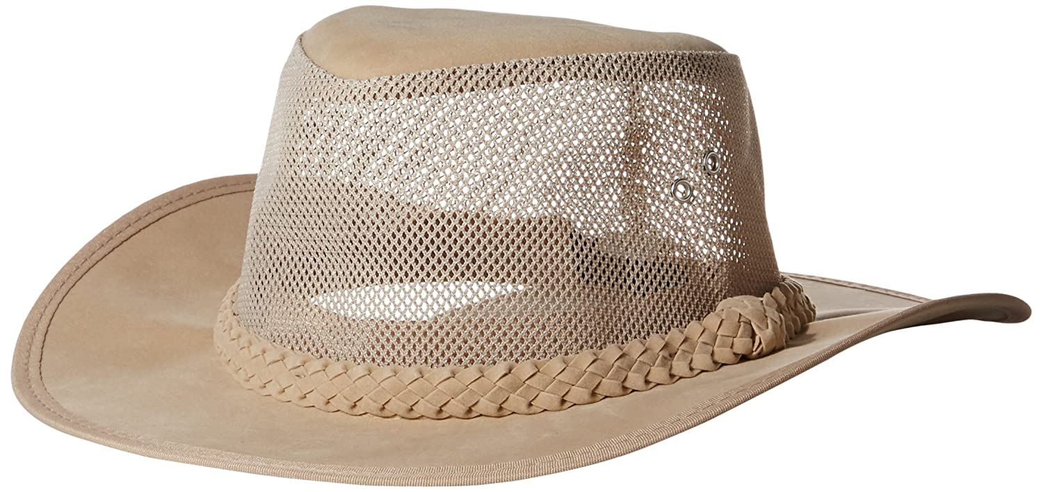 83f6abb5ffa Amazon.com  Dorfman Pacific Co. Men s Soaker Hat with Mesh Sides  Sports    Outdoors