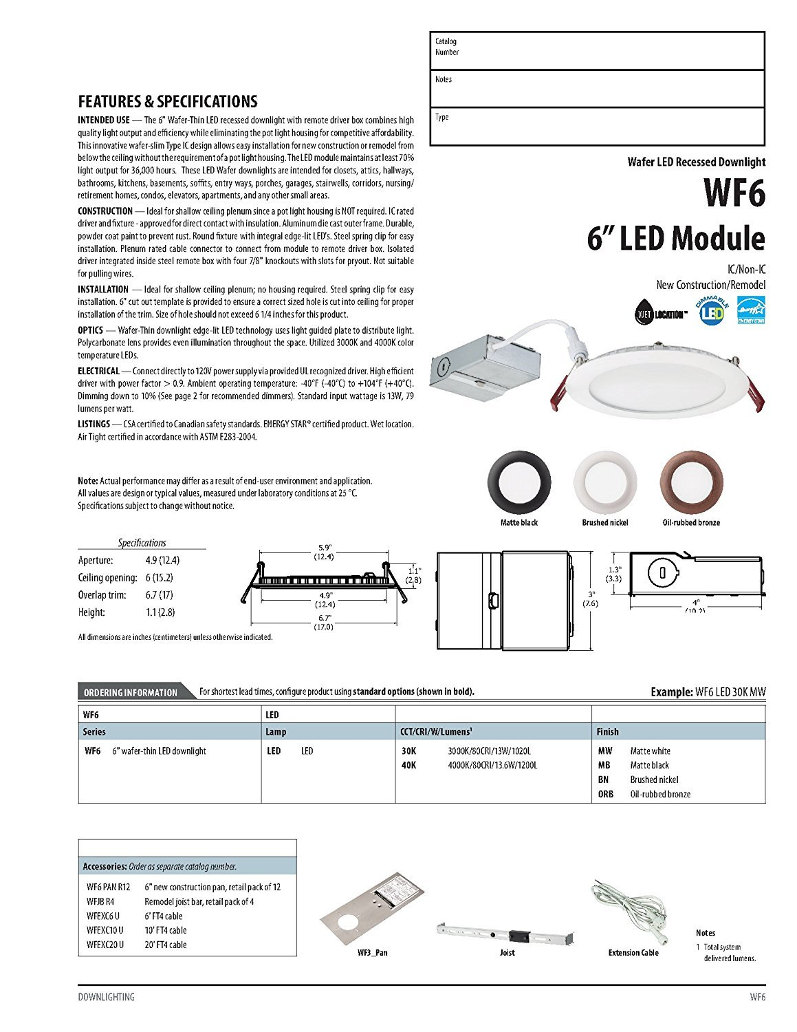 Lithonia Lighting Wf6 Ll Led 50k Mw M6 12w Ultra Thin 6 Inch Round 0 10v Dimming Downlight Wiring Diagram Dimmable Recessed Ceiling Light 5000k Daylight In White Day